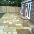 Indian Stone Paving Job in Lymm